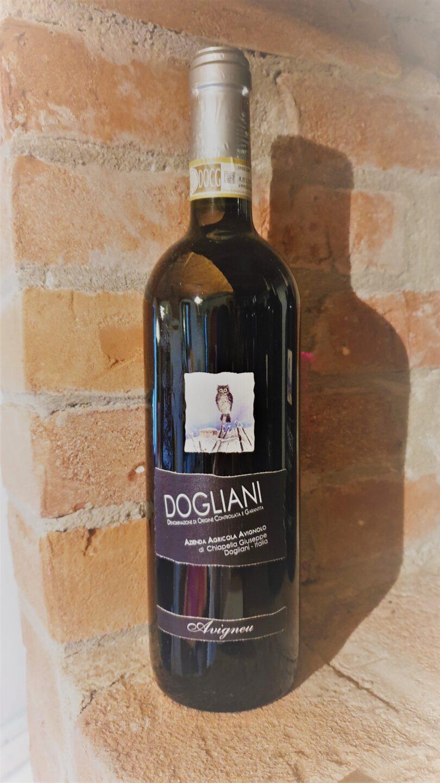 bottiglia di Dogliani DOCG Avigneu