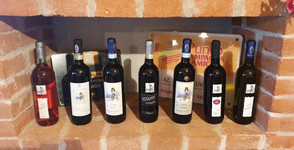 le 7 bottiglie dei nostri vini