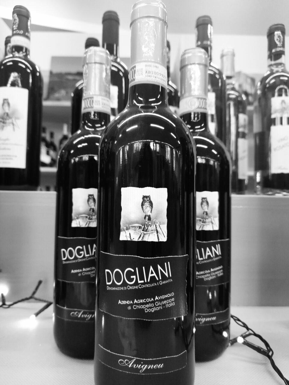 bottiglie di Dogliani DOCG Avigneu